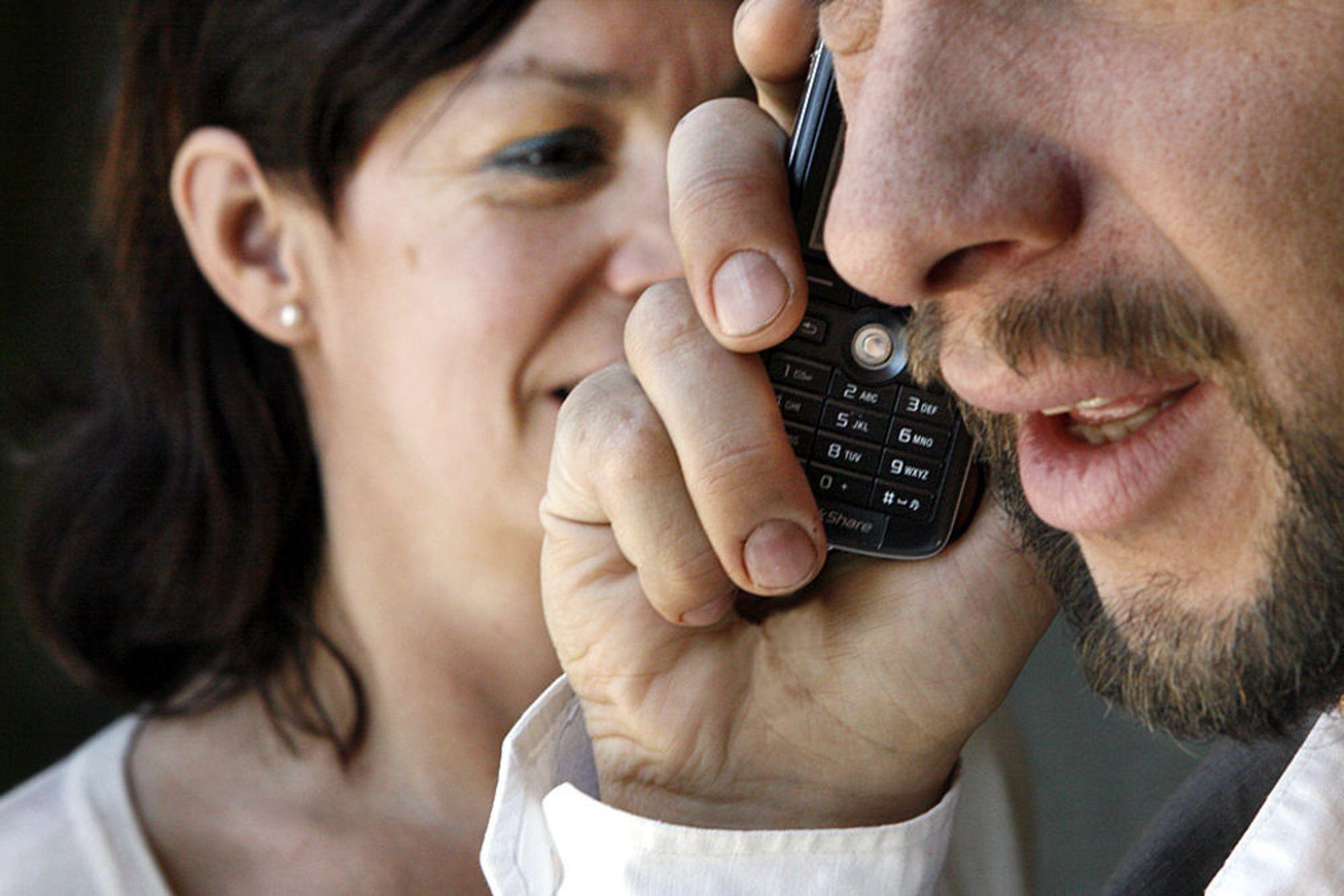Menn ringer mer enn kvinner