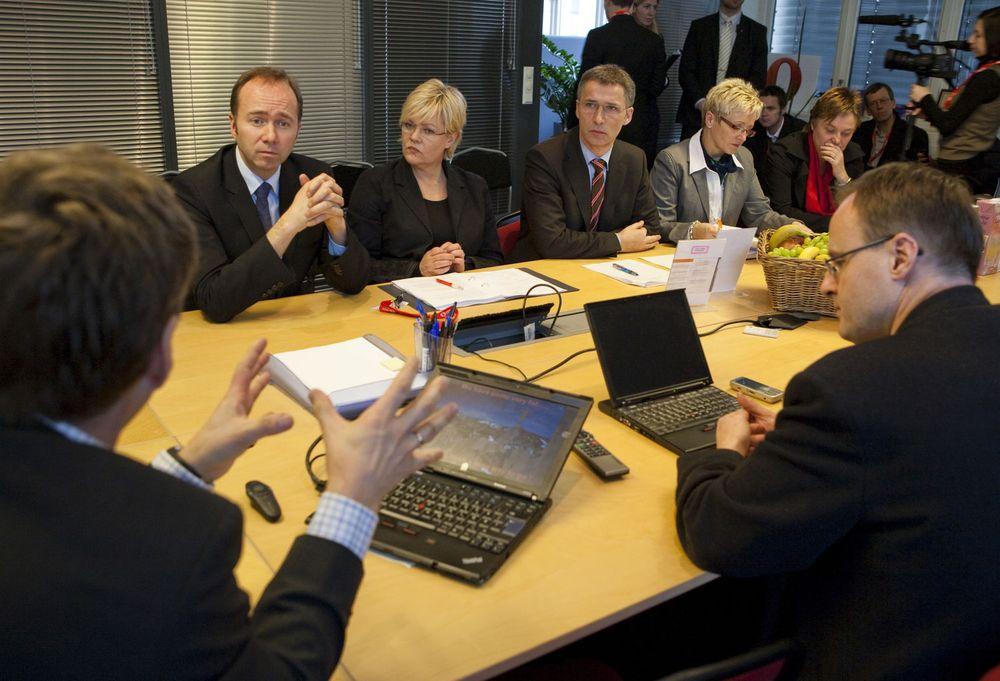 Stoltenberg ber India skåne Telenor