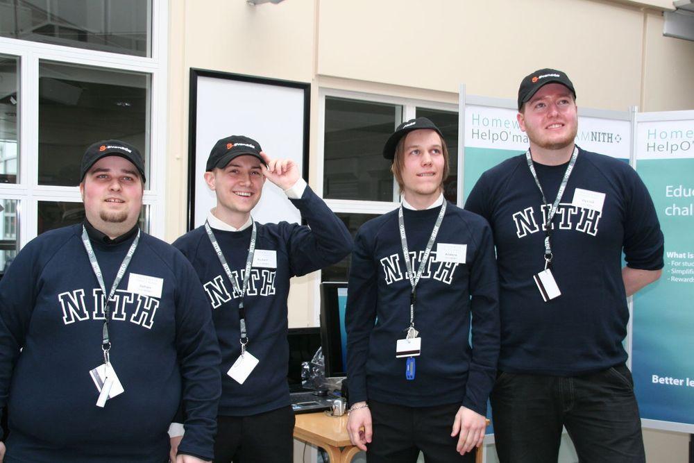 NITH-studenter fornøyd etter Imagine Cup