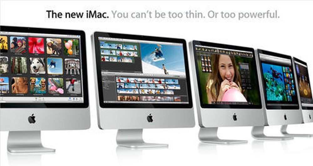 Apple lanserer nye og lekre iMac-maskiner