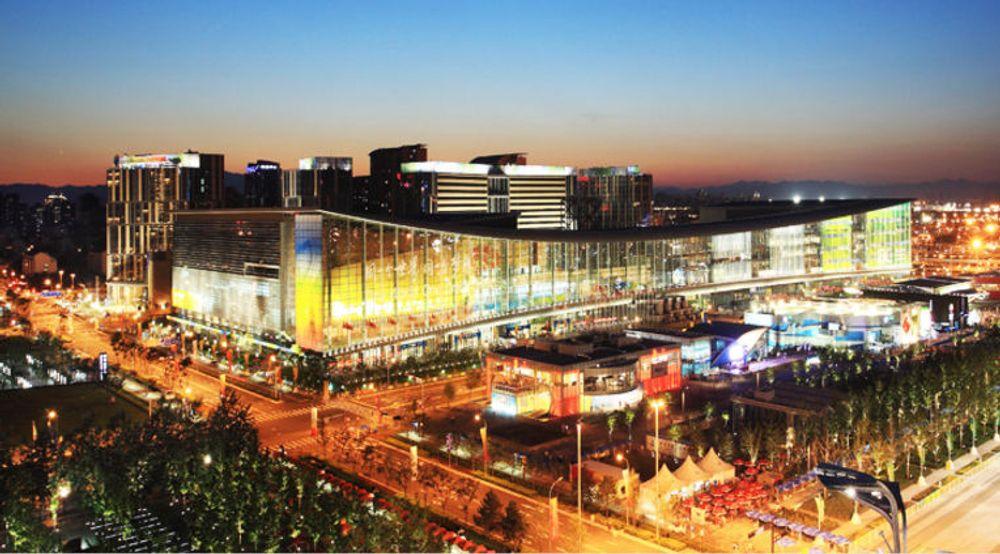 SAP arrangerer både Sapphire og TechEd i disse lokalene i Beijing denne uken.