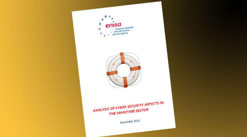 Kybersikkerhet i sjøfarten er praktisk talt ikke-eksisterende, og det er utallige muligheter for kriminelle å ramme IKT-systemer, i fartøy, havner og rederier, heter det i rapporten fra EU-organet Enisa.