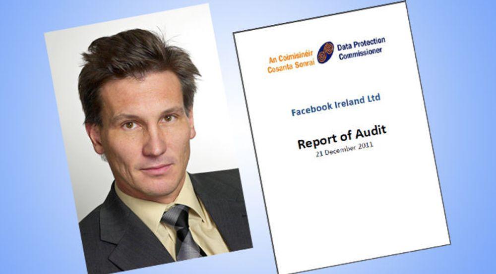 Rapporten fra det irske personverntilsynet gir Facebook mye å arbeide med, sier direktør i Datatilsynet, Bjørn Erik Thon.