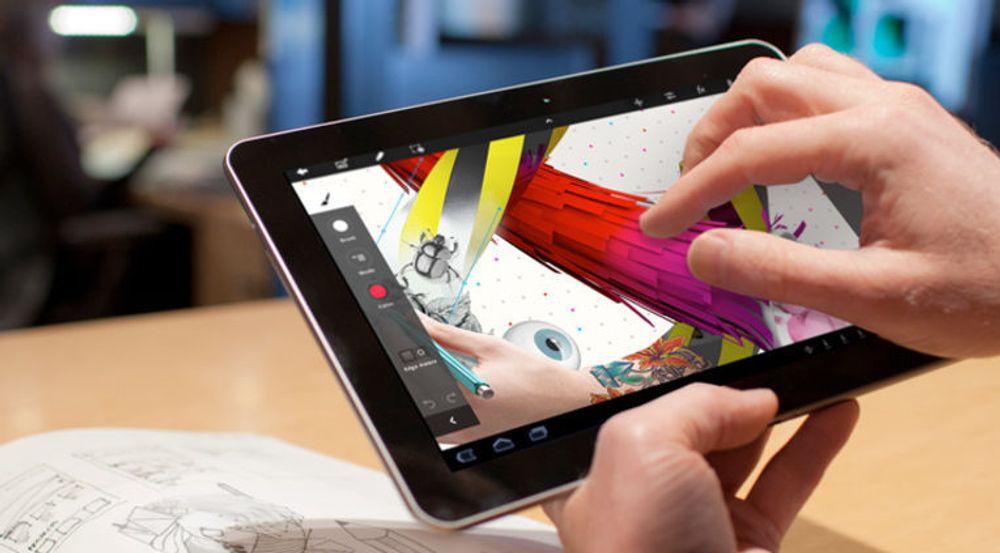 Adobe Touch Apps er et nytt produkt, beregnet på dem som vil ha muligheten til å prøve ut nye ideer på nettbrett.