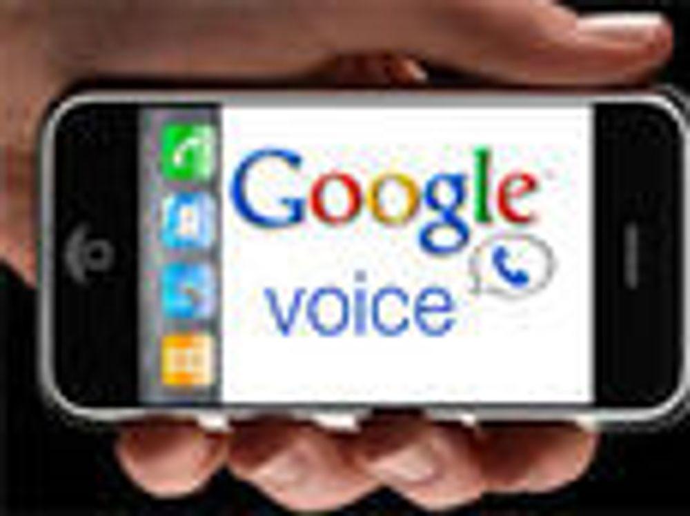 - Apple har ikke avvist Google Voice