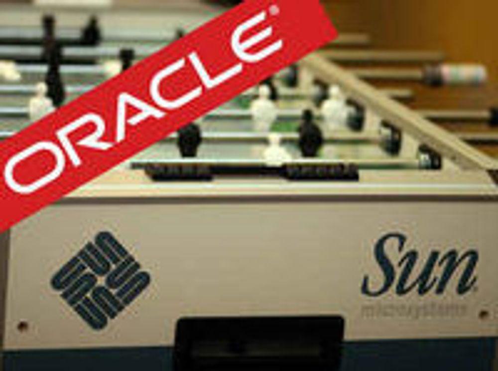 «Helt ok» at Oracle kjøper Sun