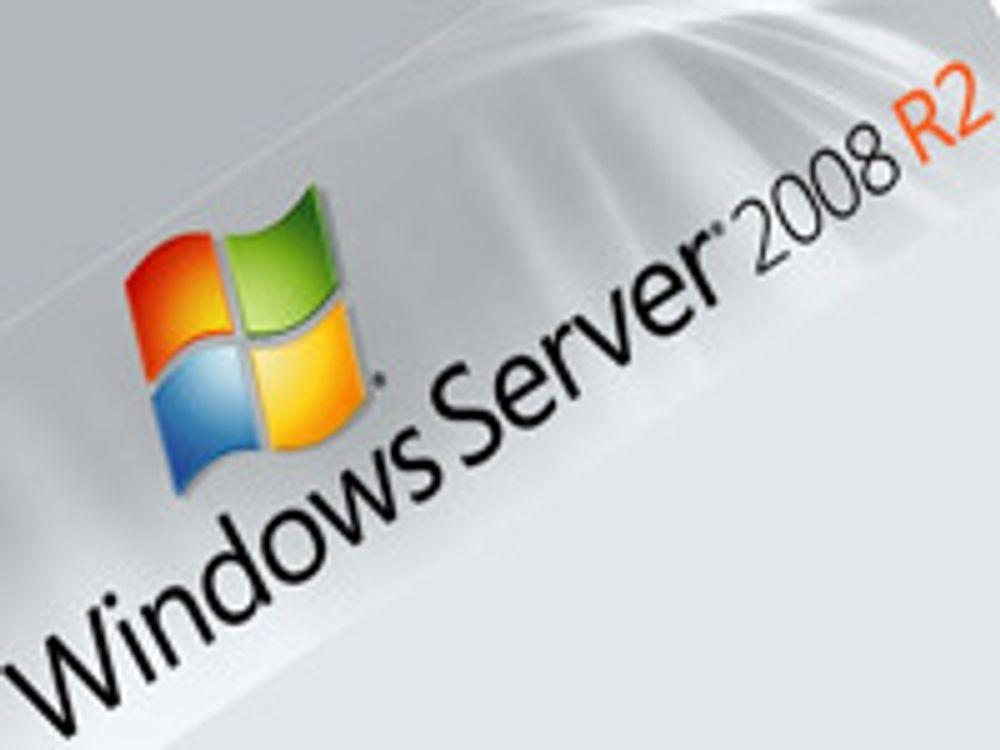 Windows Server 2008 R2 sluppet til storkunder