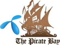 Telenor-kunder kan stenges ute fra Pirate Bay