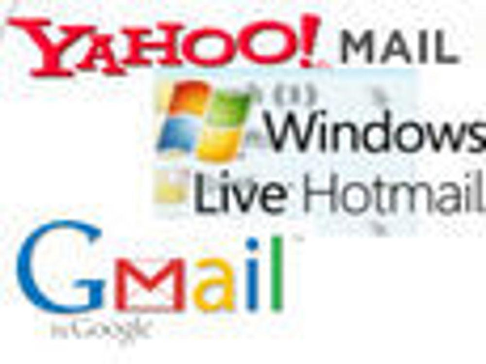 Kraftig vekst i bruken av Gmail