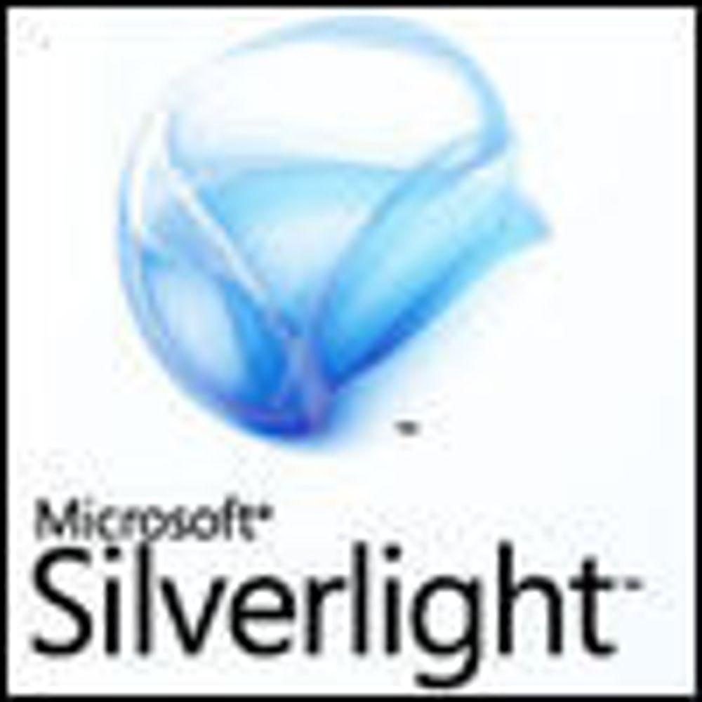 Slapp testutgave av neste Silverlight