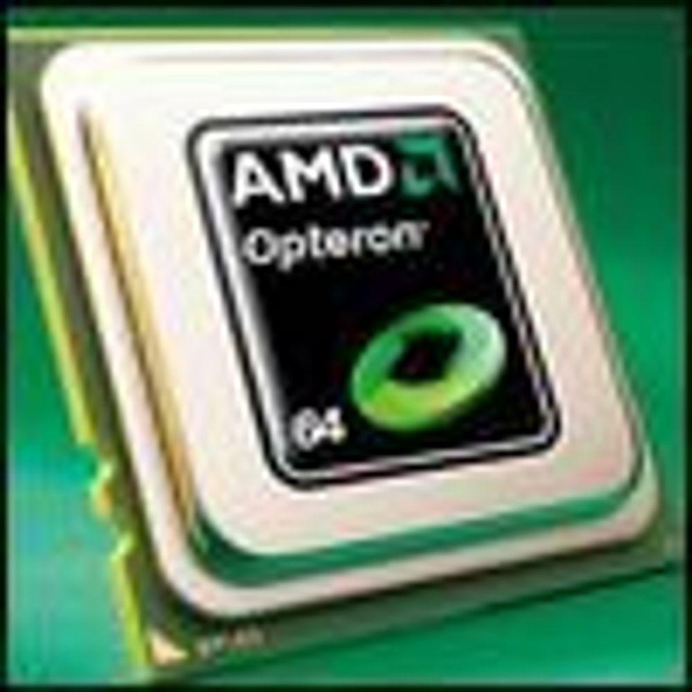 Nå vil Dell og HP bruke firekjernet Opteron