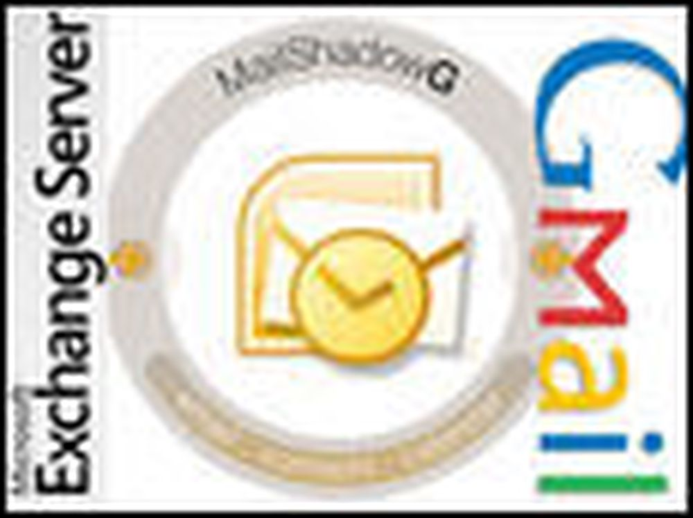 Bruk GMail som «Exchange Server»