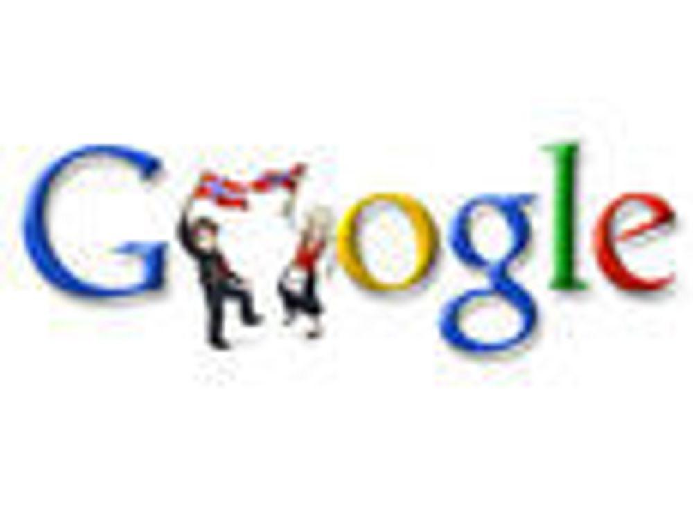 Google gratulerer med dagen.