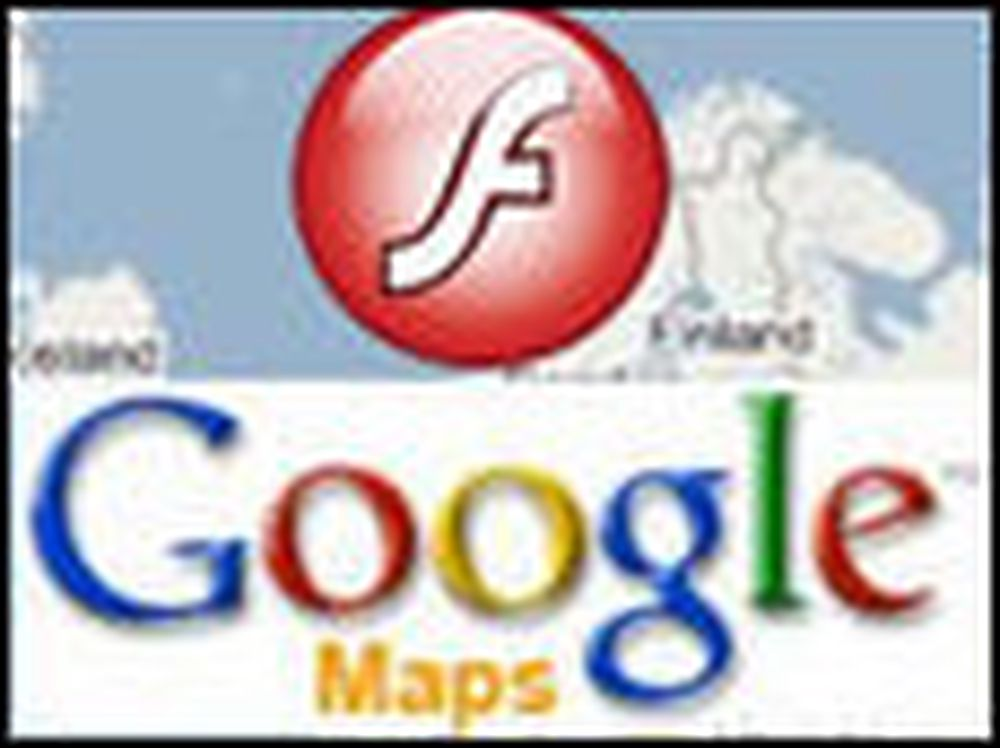 Åpner Google Maps for Adobe Flash