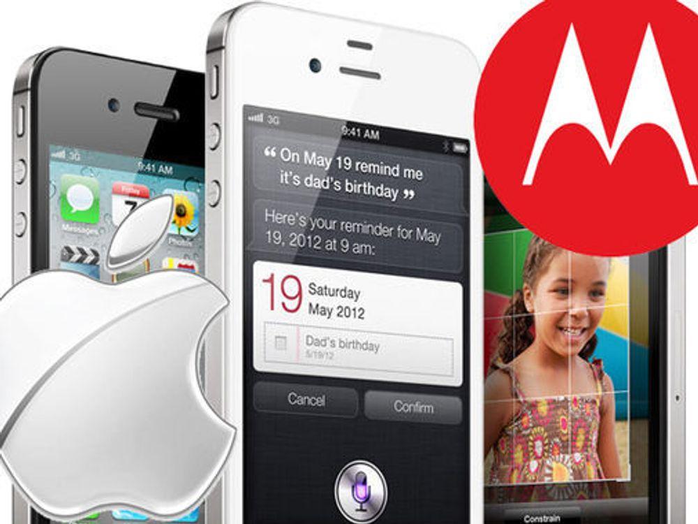Nytt Motorola-søksmål mot Apple