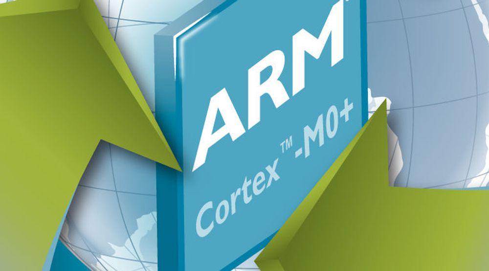 ARM hevder at ARM Cortex-M0+-brikken er mer energieffektiv enn noen annen prosessor på markedet.