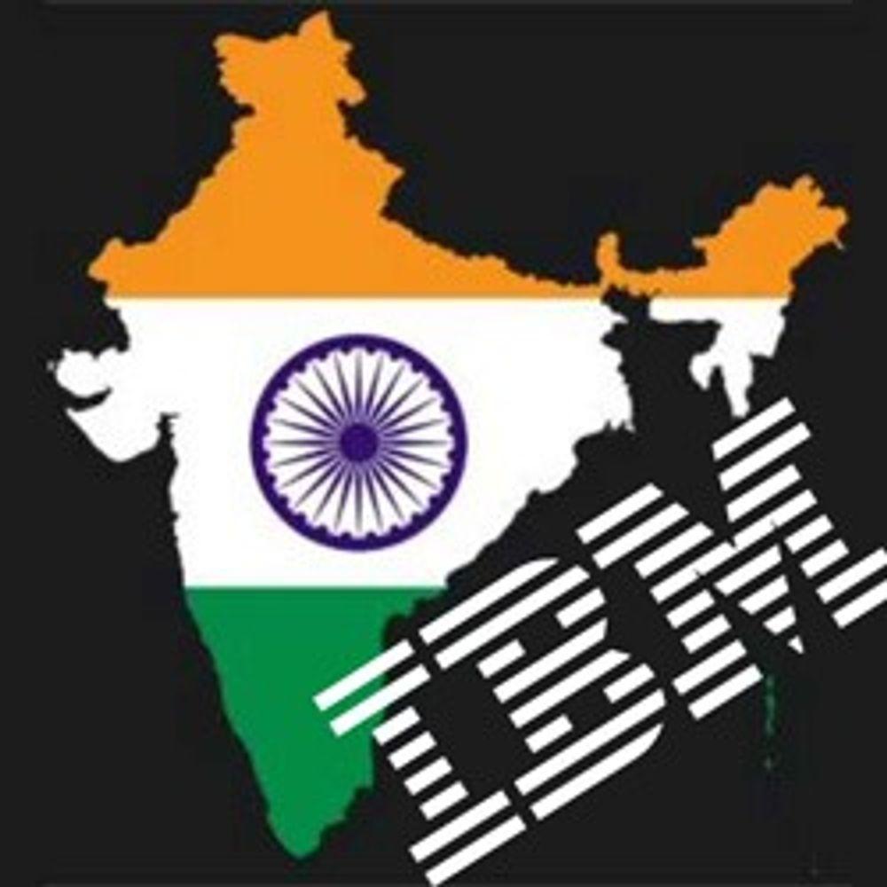 India er IBMs «nav» for global satsing