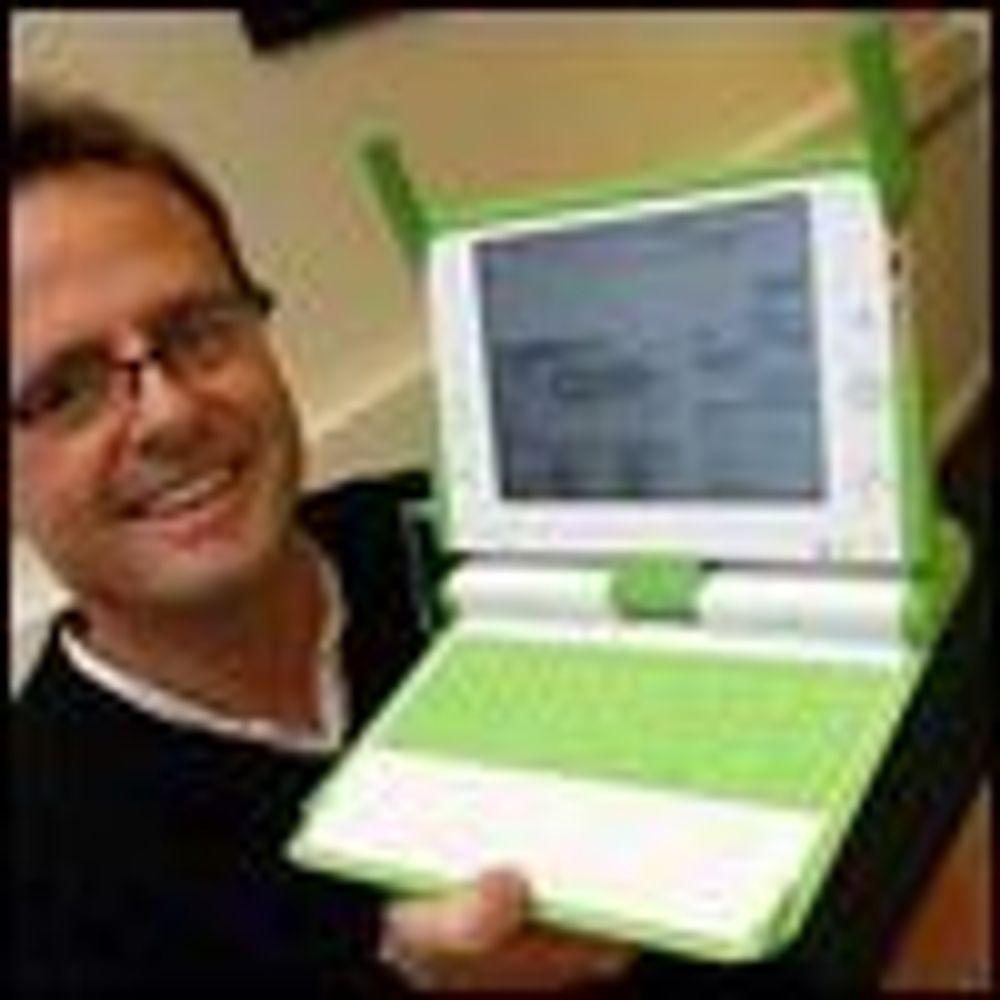 Skal kjøpe OLPC til norske barnehager