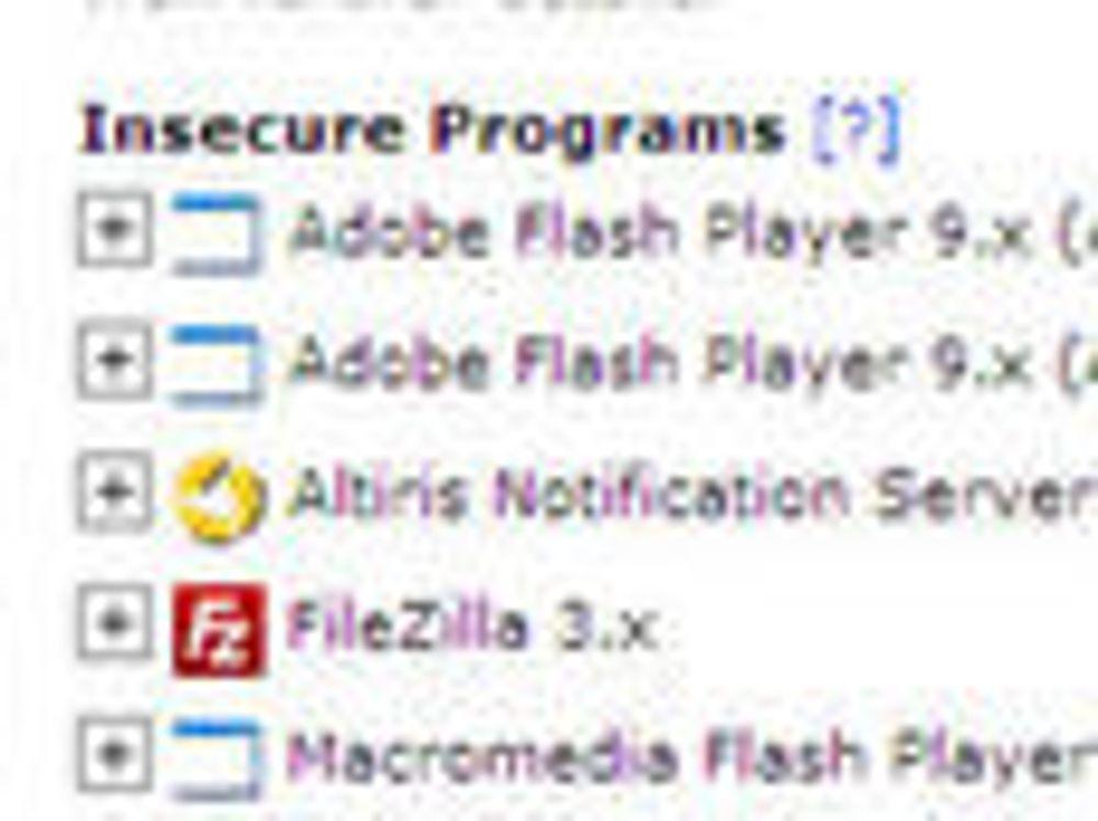 - For vanskelig å oppdatere programvare