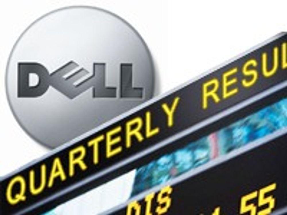 Halvert overskudd i Dell