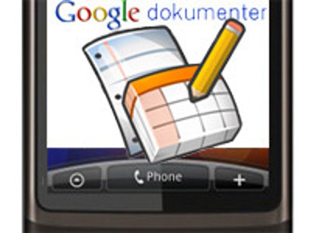 Rediger Google Dokumenter med mobilen