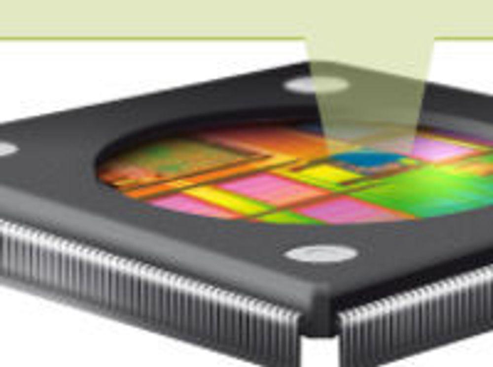 Blokkdiagram for ARMs Mali-T604-GPU