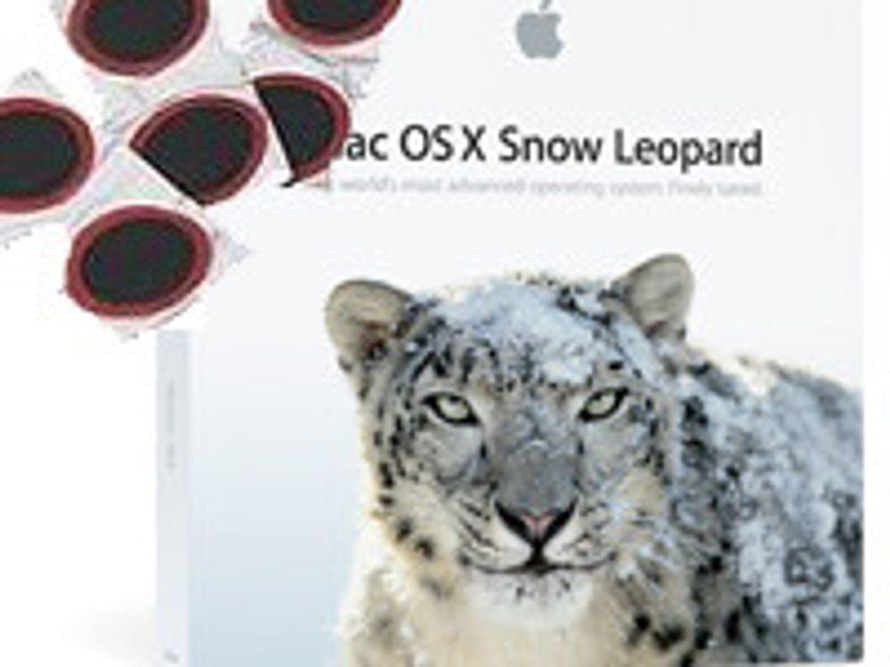 Lapper over 50 sikkerhetshull i Mac OS X