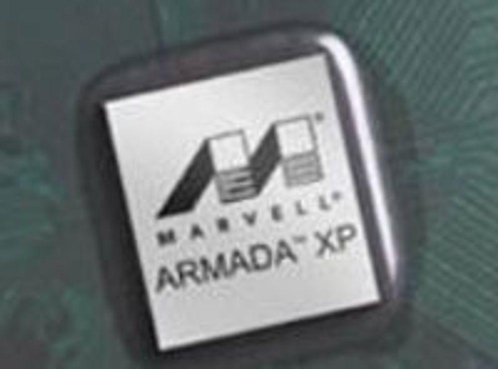Marvells ARM v7-baserte Armada XP med fire kjerner.