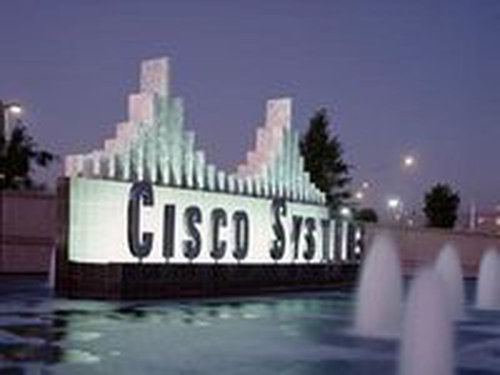 Ordresvikt ryster Cisco