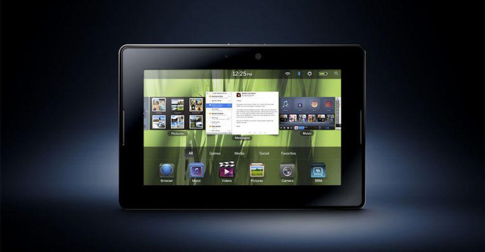 Blant egenskapene til RIMs iPad-utfordrer Playbook, er sanntidsoperativsystemet QNX, med støtte for fleroppgavekjøring, flerkjernede prosessorer, Adobe Flash og Java.