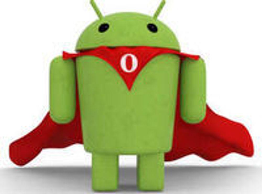 Slik blir Opera Mobile for Android