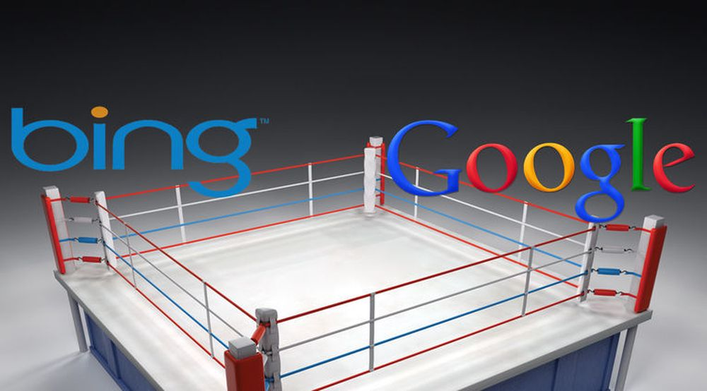 Kampen mellom blant annet Bing og Google er i ferd med å flyttes fra pc-ens nettlesere til smartmobilene og nettbrettene.