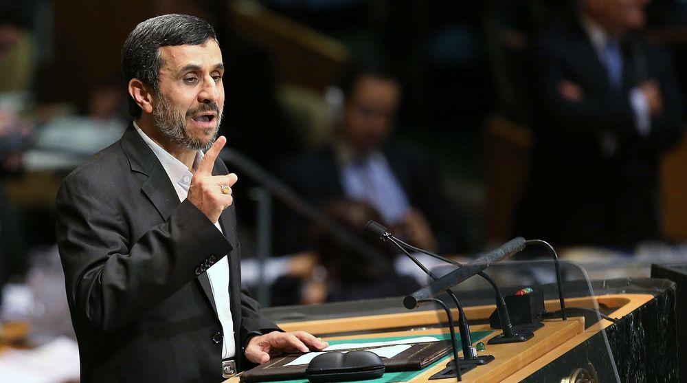 Irans president Mahmoud Ahmadinejad fører en foreløpig lavmælt kyberkrig mot USA, ifølge kilder i Pentagon. På FNs hovedforsamling i september langet den iranske presidenten ut mot amerikanske overgrep mot Iran.