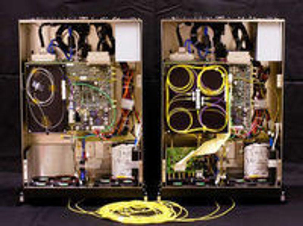 Kvantekryptografisystemet QPN 5505 fra MagiQ Technologies.
