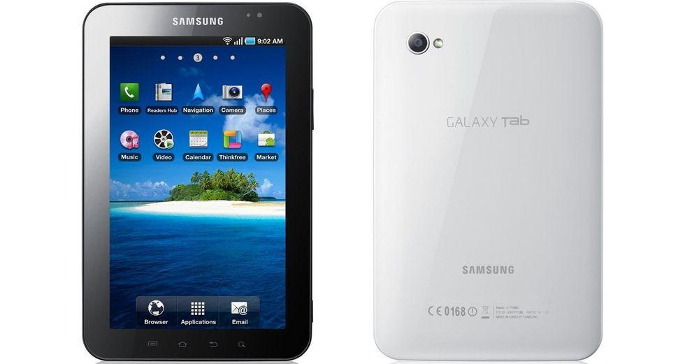 Samsung klar med nettbrett