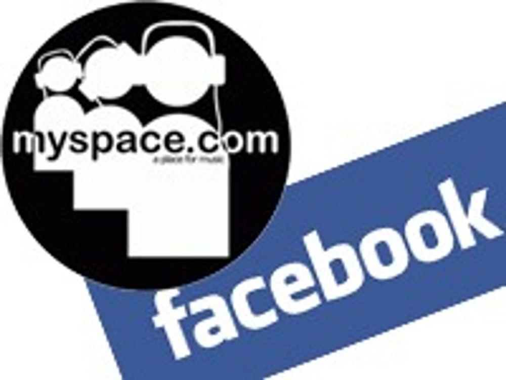 Nye ormer på MySpace og Facebook