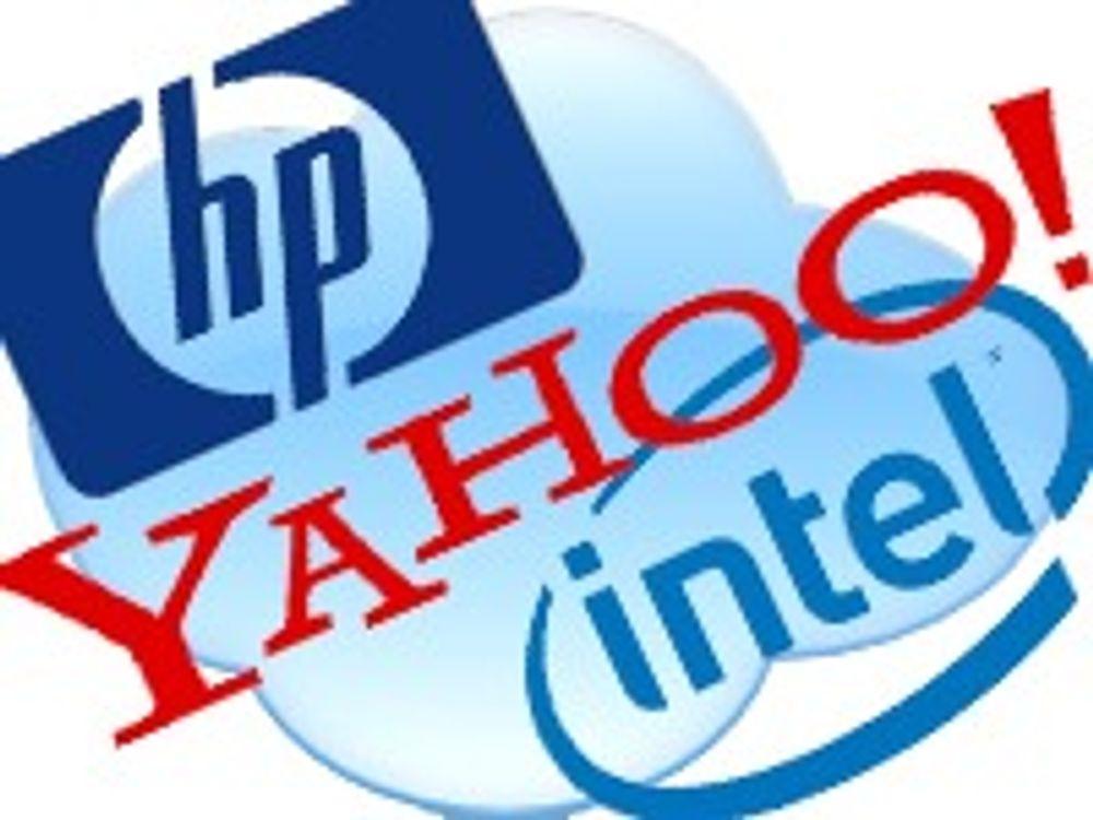 HP, Intel og Yahoo sammen for «nettskyen»