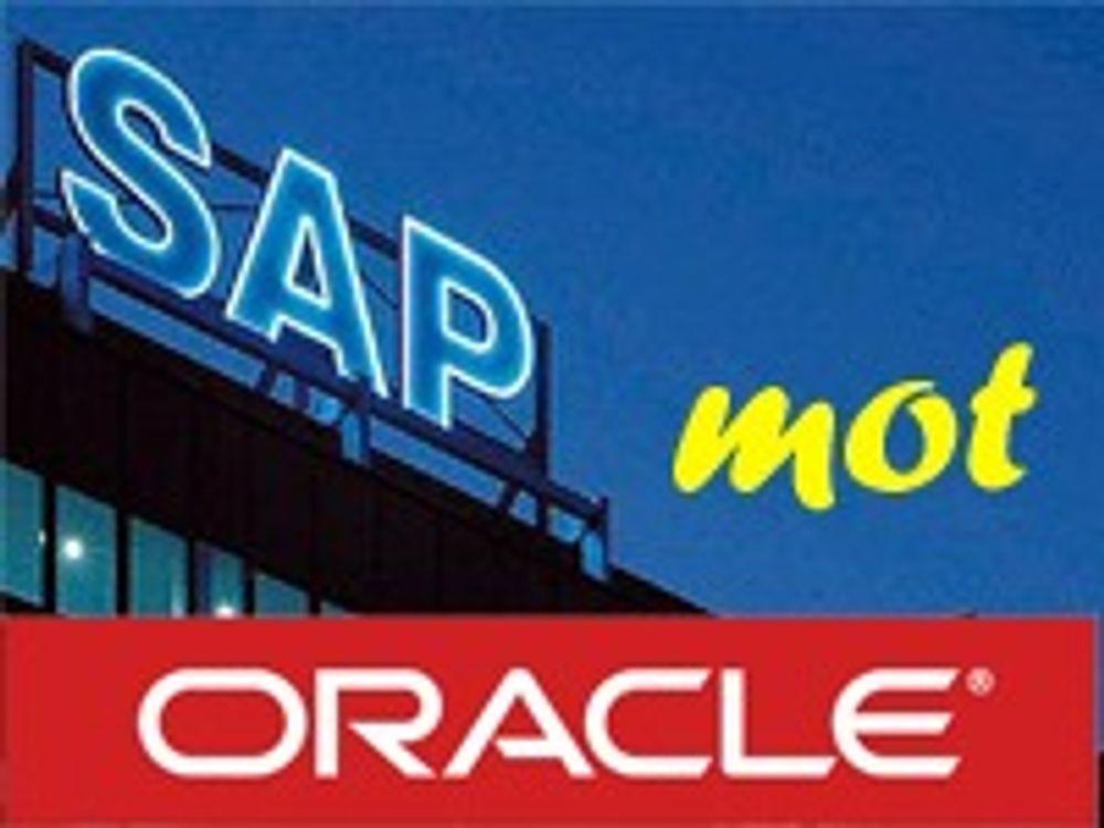 Dekkoperasjon i SAP, hevder Oracle