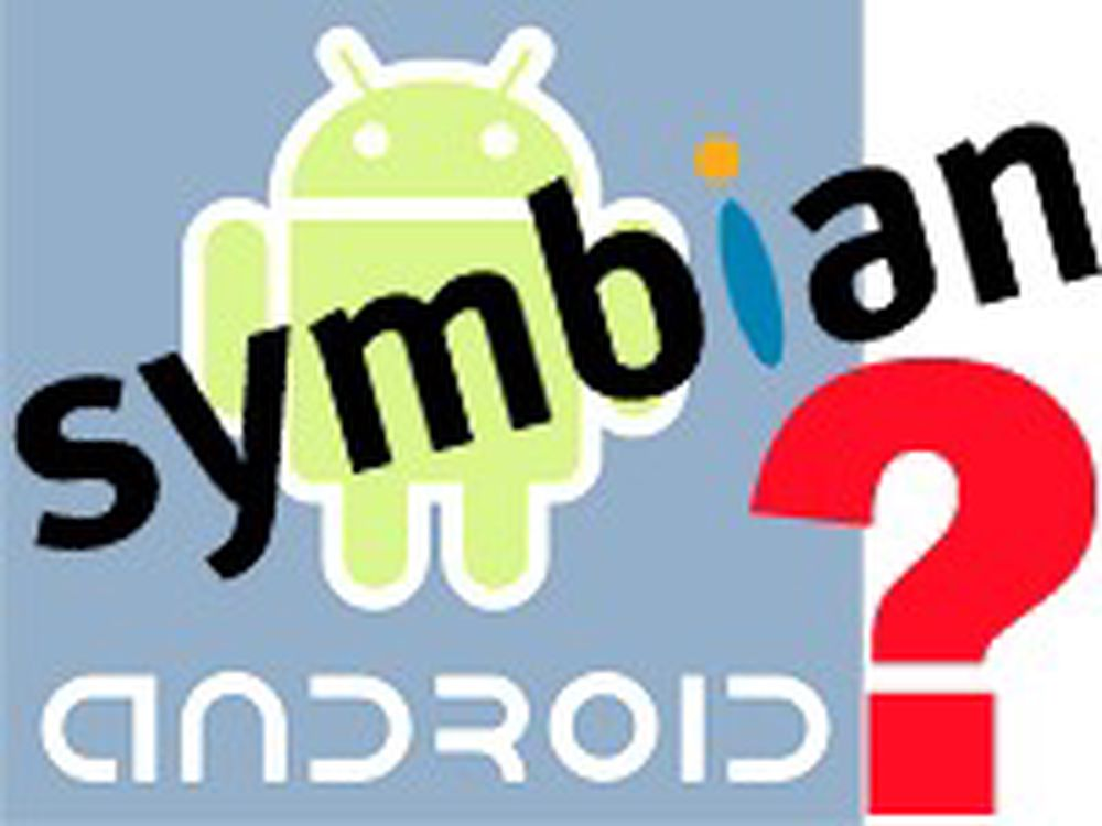 Sier Android + Symbian er «rykter»