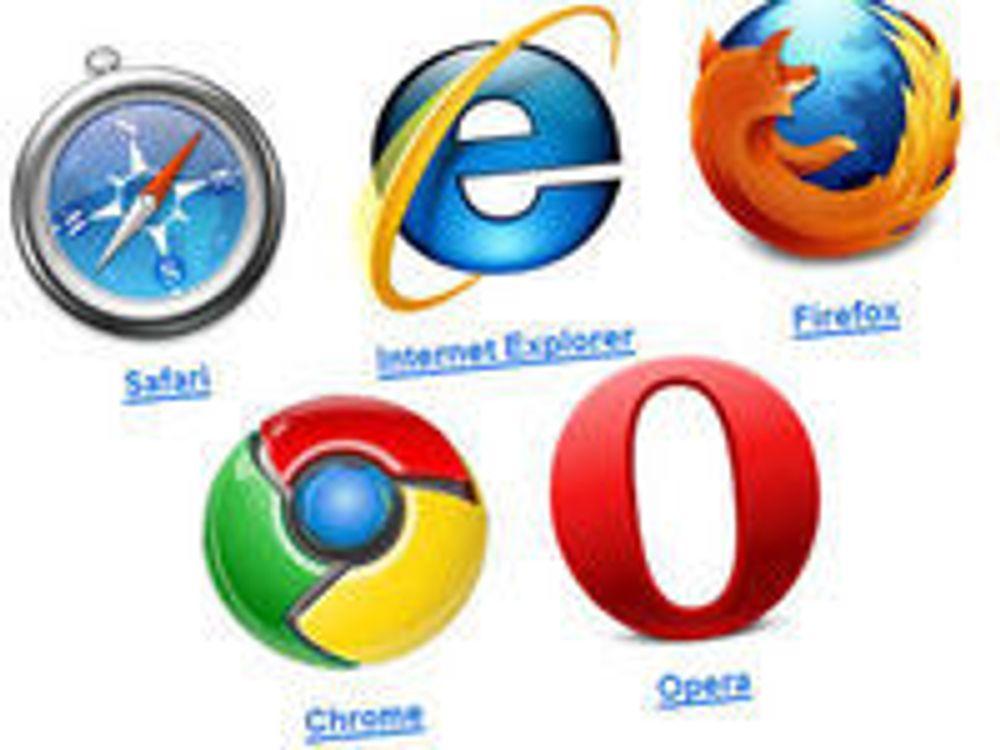 Internet Explorer fortsatt klart størst i Norge