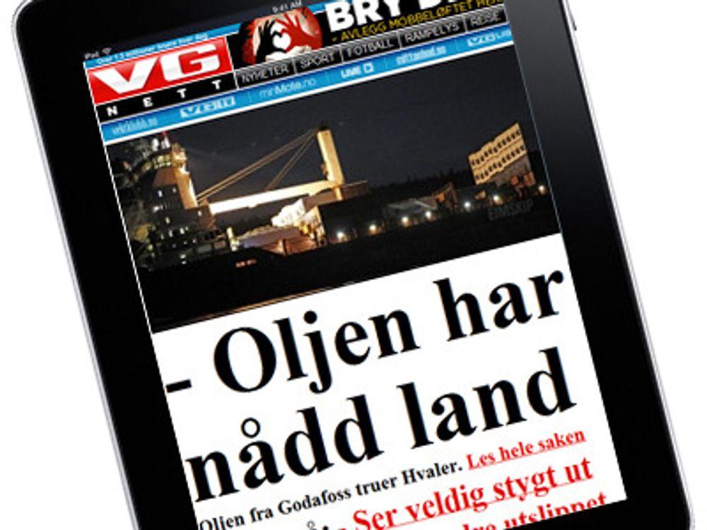 Håper iPad kan redde VG
