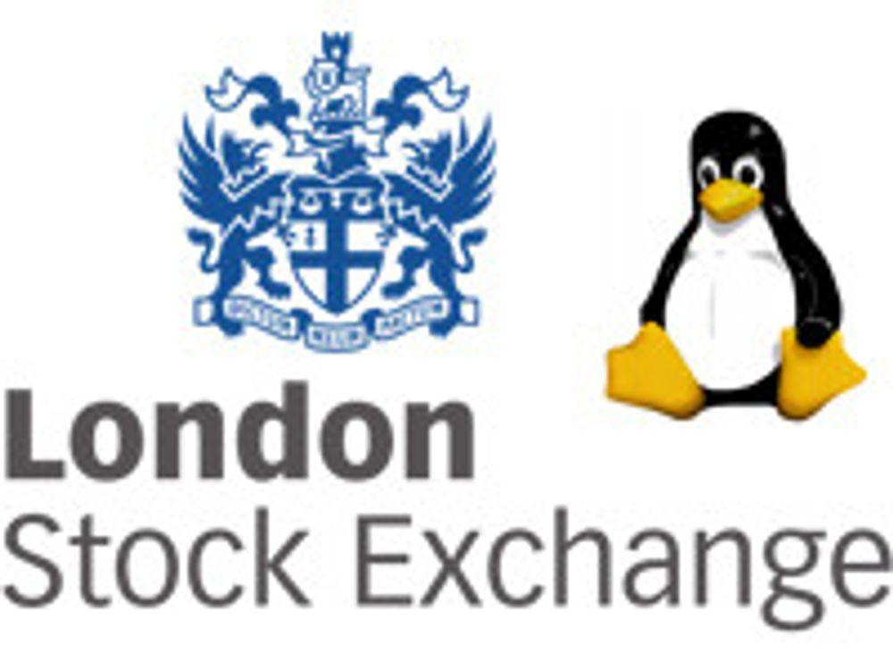 London-børsen har byttet til Linux
