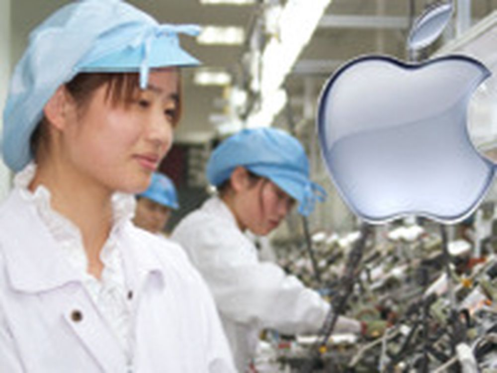 Apple-rapport om fabrikkarbeid i Asia
