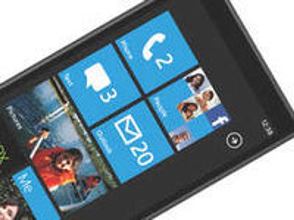 WinPhone7 får moderne nettleser