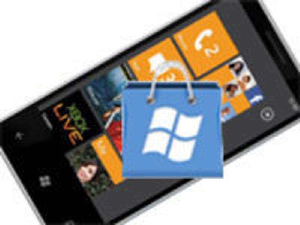 Kun «snille» apps til Windows Phone 7