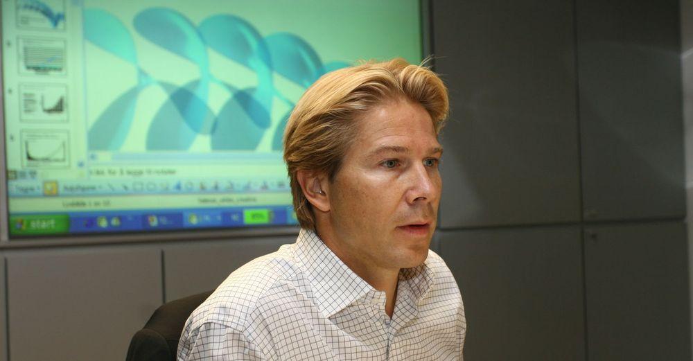 Standardiserer på Microsoft: Teknologidirektør Rolf-Erik Spilling moderniserer de interne IT-systemene til Telenor for 2,1 milliarder kroner.
