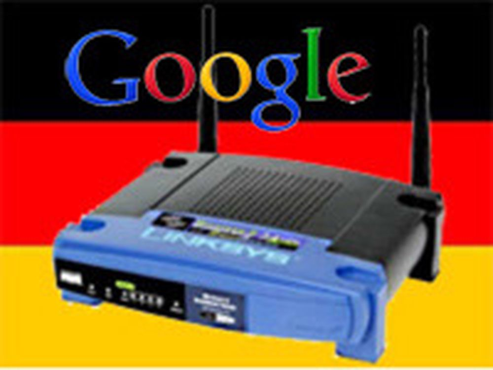 Google utleverer WLAN-data