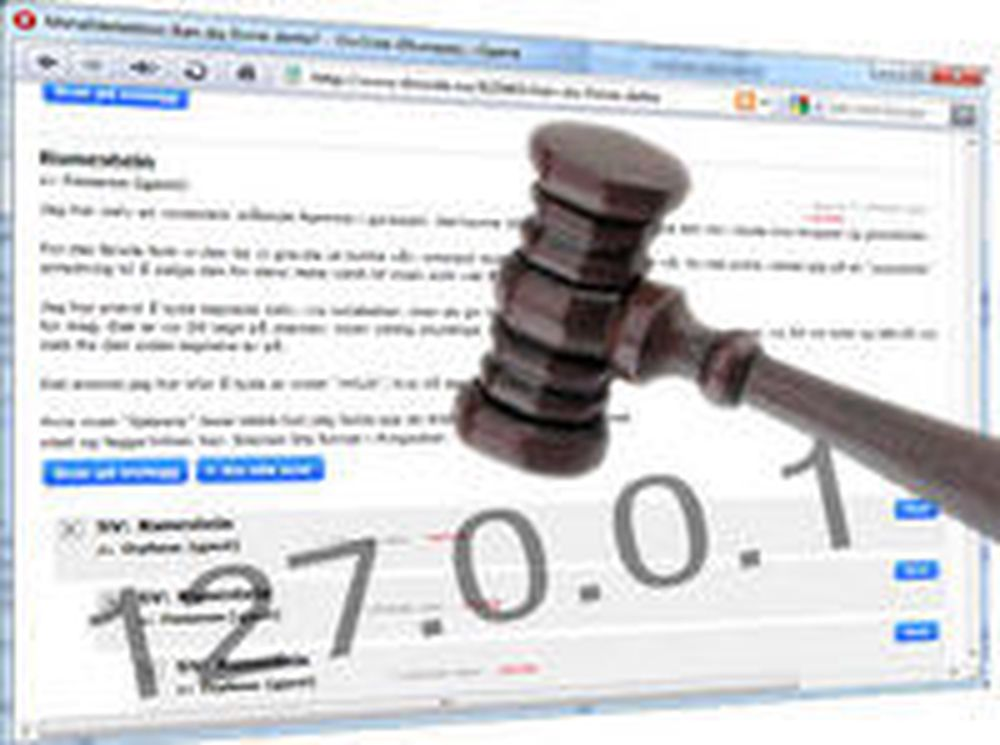 Tapte anke om utlevering av IP-adresse