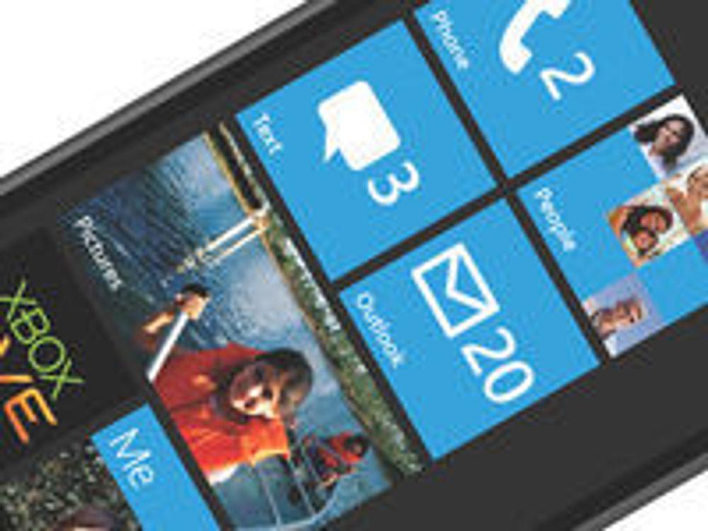 Windows Phone 7-tallene var feil