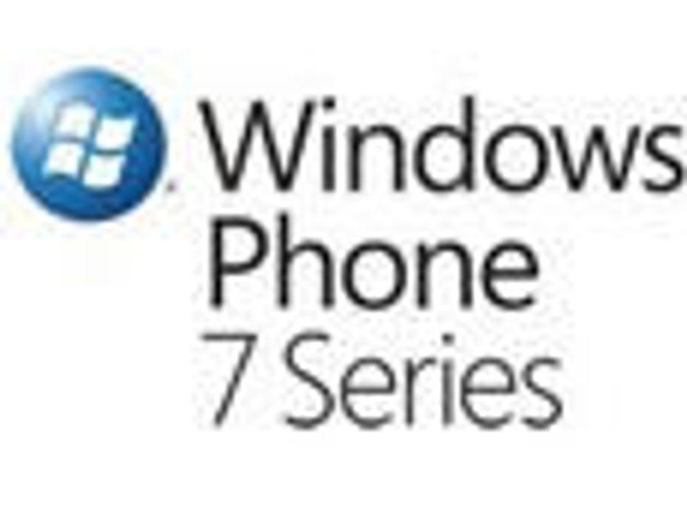 Tror på voldsomt salg av Windows Phone 7